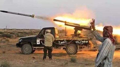 """大显神威!""""爱国者""""导弹凌空打爆多枚袭击巴格达绿区的火箭弹"""