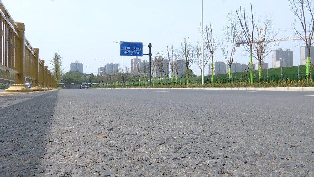 ①个好消息,浐灞生态区赵围东路完工通车