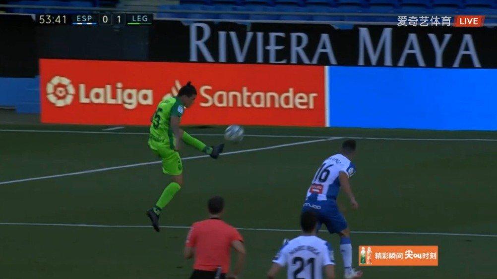 第53分钟,霍纳坦-席尔瓦破门!莱加内斯客场1-0领先西班牙人!