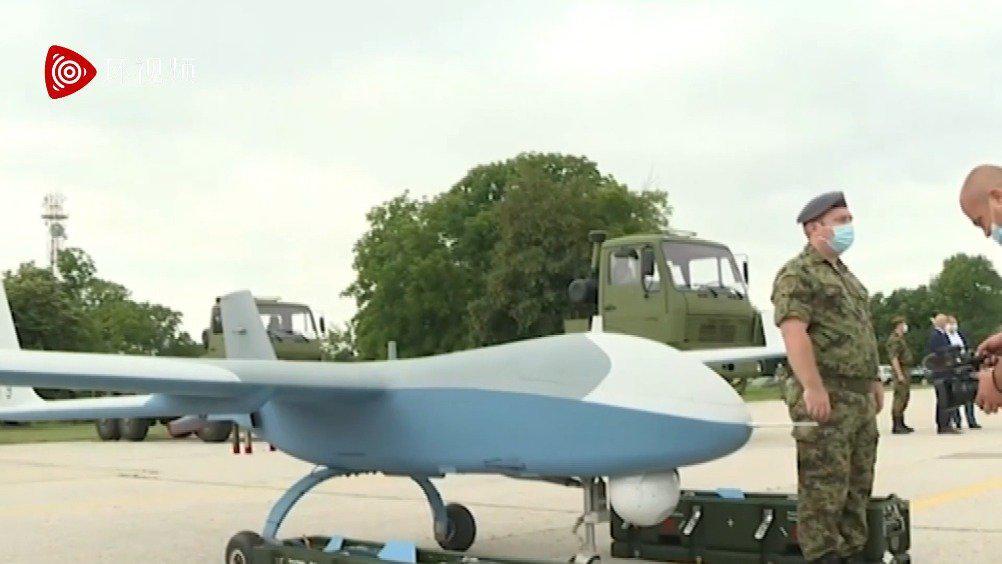 中国军用无人机首次出口欧洲!彩虹92A远赴塞尔维亚……