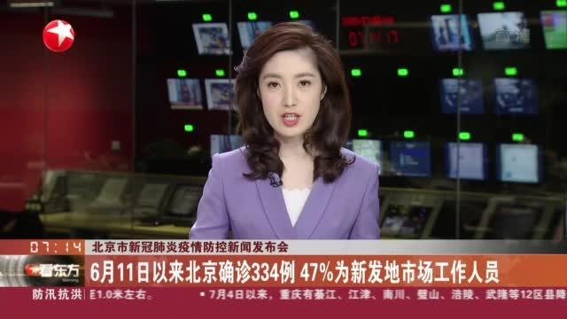 北京市新冠肺炎疫情防控新闻发布会:4日确诊2例均为新发地市场销售人员