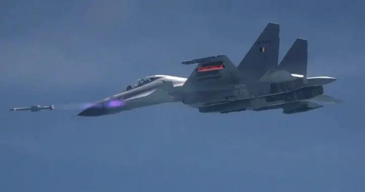 土洋结合!印度要给俄制战斗机装上新型国产空空导弹