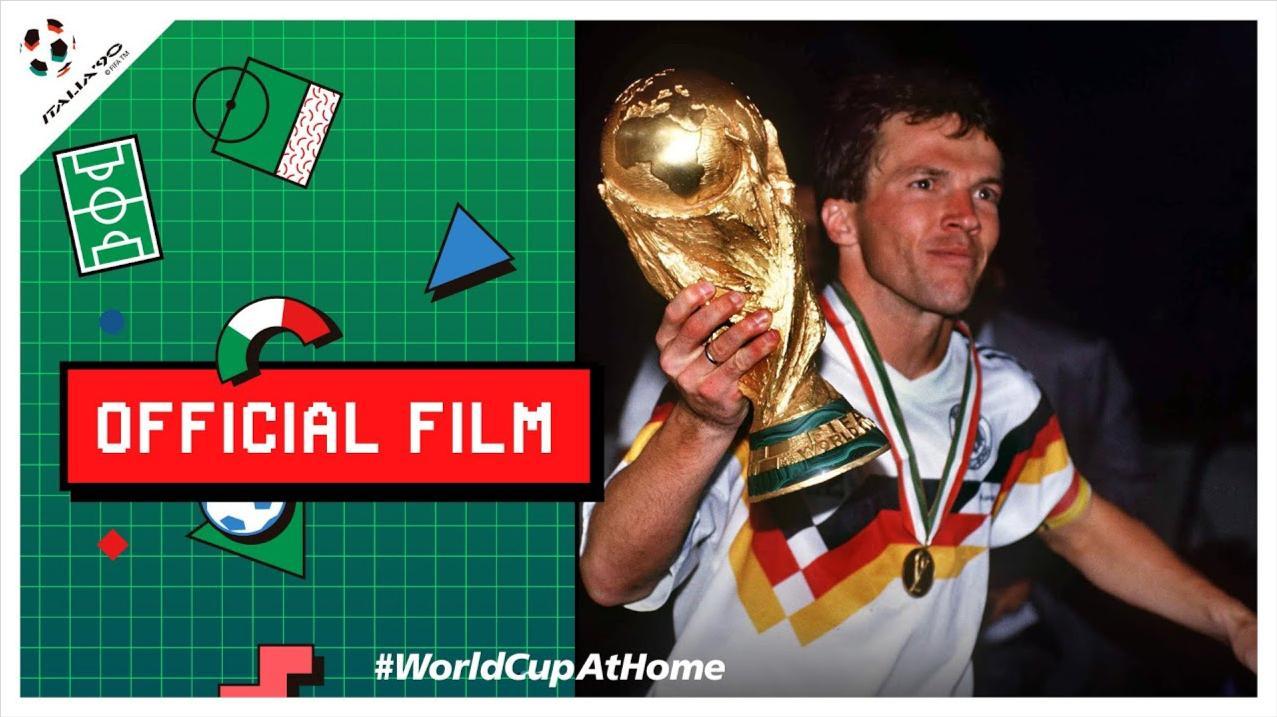 收藏经典!90年世界杯,意大利之夏,FIFA终于推出官方纪录片!