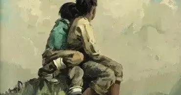 大笔触,大色块,大写意~美国画家Eustace.Paul.Ziegler油画作品