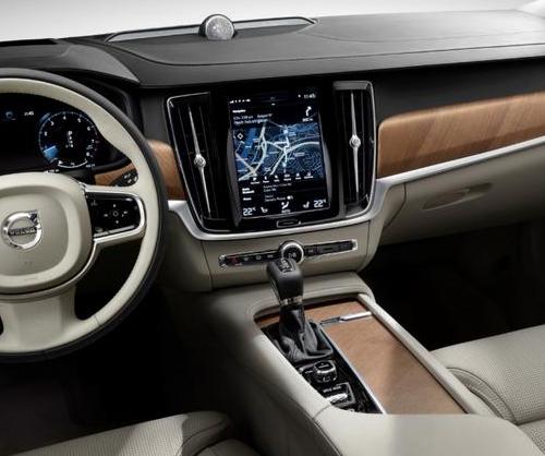 沃尔沃S90高颜值安全舒适,车界的王者,怎能不爱!