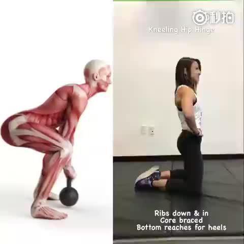 想要翘臀,但始终找不到臀部专注发力的感觉??