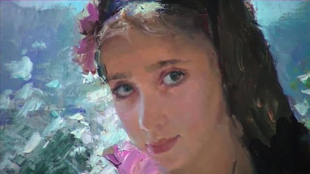 俄罗斯当代艺术家Vladimir Volegov油画,是很恬静的风格!