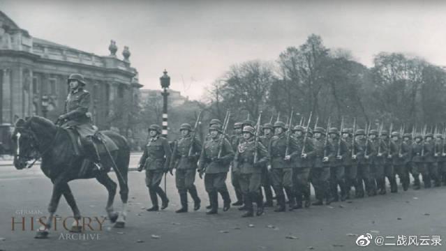 一起来回顾那一年德国纳粹占领法国巴黎的真实景象!