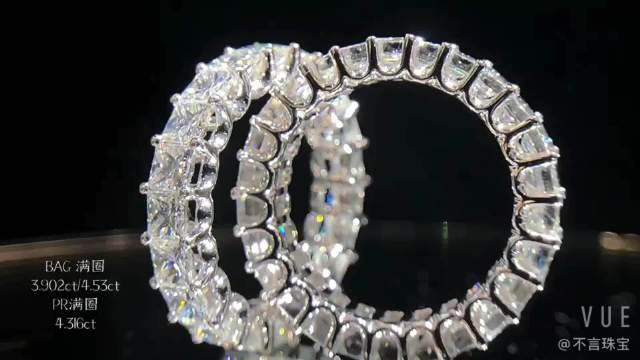 360°镶钻的戒指来看看? 今天有一位太原的小姐妹来选婚戒……