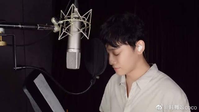 EXO CHEN演唱朴孝信的《呼吸》好好听,金钟大好棒