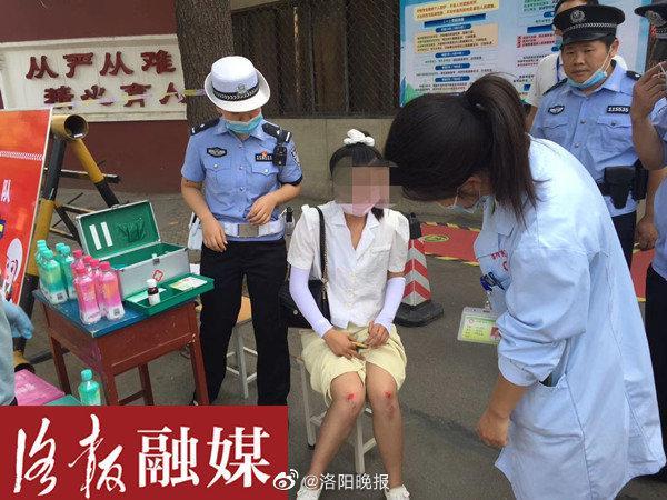 """洛阳一高考考生出车祸受伤后称""""我不想高考了""""……"""