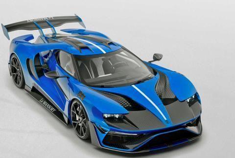 这辆福特比法拉利还强,700马力全碳纤维车身,极速350km/h