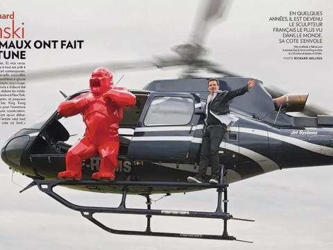 法国著名当代雕塑家Richard Orlinski的作品欣赏