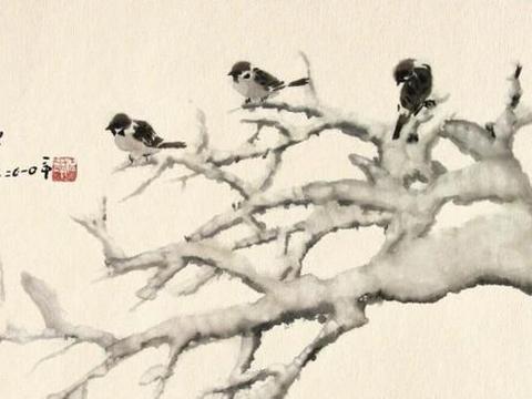 倪萍绘画水平越来越高:用墨大胆有创意,写意风格不输齐白石