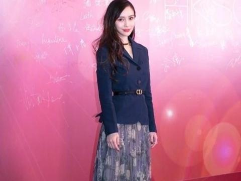 Angelababy代言迪奥,杨颖完美展现贵妇气质,谁看了能不爱?
