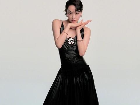 邱淑贞真是太绝了,穿半透黑纱裙气质不输当年