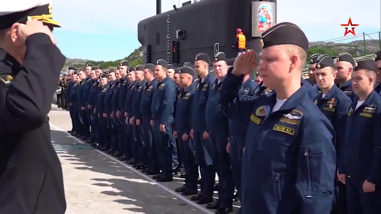 俄海军弗拉基米尔大公号核潜艇正式加入北方舰队序列