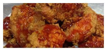 赛螃蟹、三鲜豆腐羹、水煮肉片、韩式蒜味炸鸡的做法