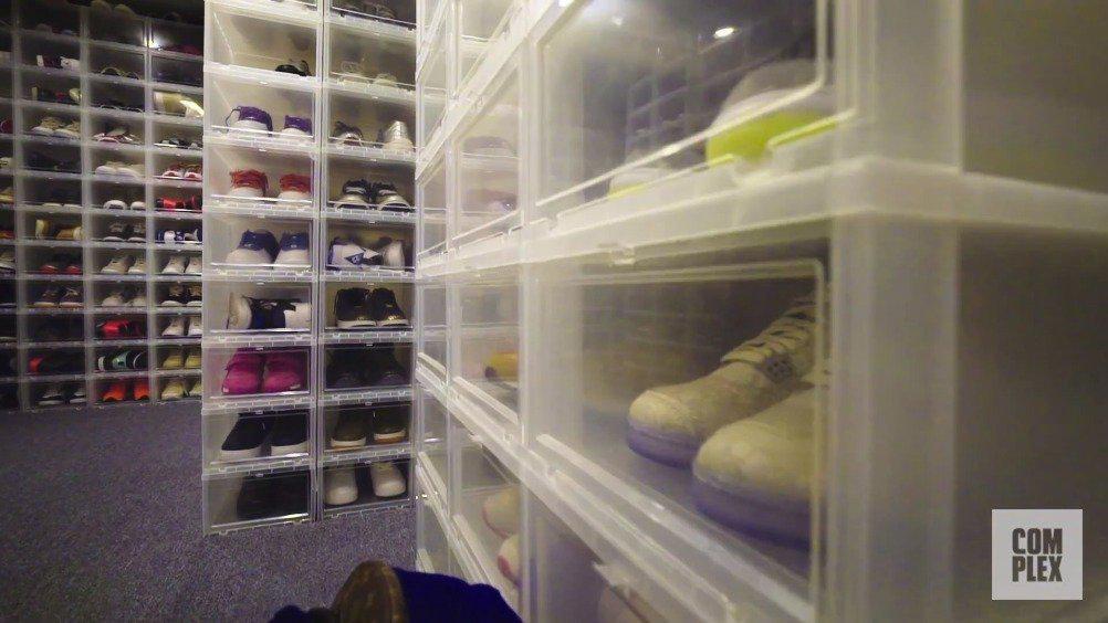complex最新一期节目邀请到了重量级的球鞋收藏家Mayor……