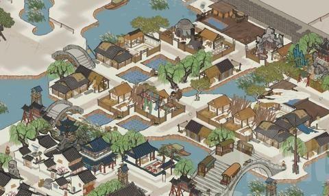 江南百景图公测:开荒手札 我鱼米之乡种不出菜怎么了?