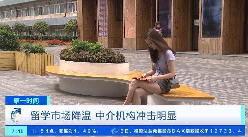 留学市场降温 中介机构冲击明显