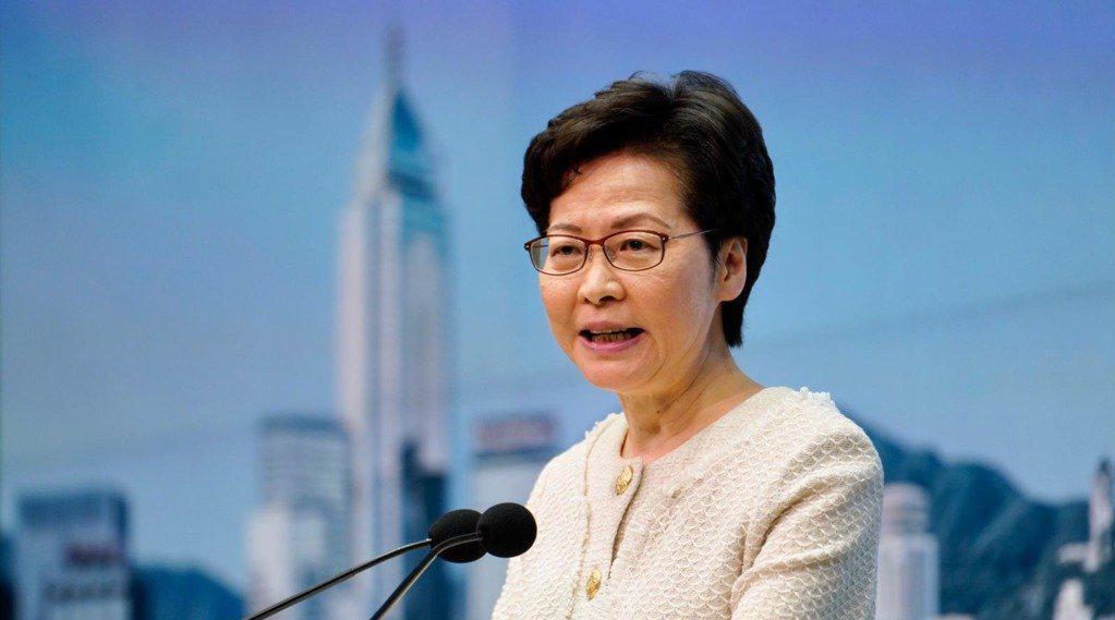 林郑月娥:一定会严格执行香港国安法