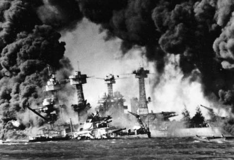 """二战1941:""""不要忘记珍珠港""""——美国对日宣战"""