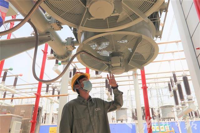 湖北省首座500千伏智能变电站增容 武汉临空港区获强大电力支撑
