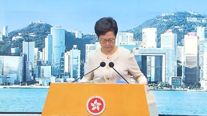 林郑月娥:西方国家如此关注、评论港区国安法 是因害怕中国崛起