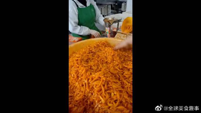 乌江榨菜原来是这样做的,怪不得新交的女友一股榨菜味……