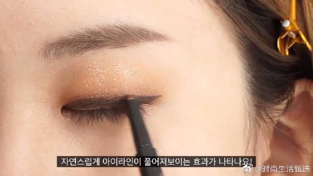 超美的单眼皮眼妆,别再说单眼皮不好看了!