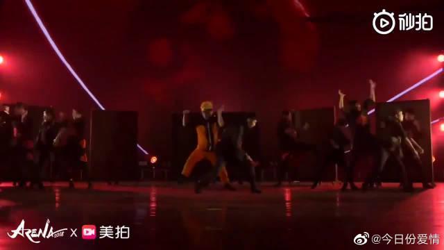 O-DOG舞蹈室,超燃火影忍者舞蹈表演