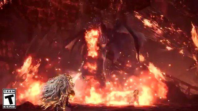 《怪物猎人:世界 冰原》煌黑龙 招式一览,将于明日正式登场!