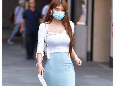 飘逸又有型,适合时尚女生的半身长裙穿搭,让你美美过夏天