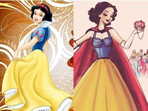 当迪士尼公主开始T台走秀,白雪太有名媛范,花木兰让人认不出