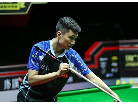 中式台球单挑赛,刘海涛和张广豪的踢馆复活赛结束第二回合较量