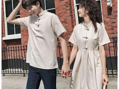 改良版汉服情侣衫,好看而且不易撞衫,情侣穿上很有格调