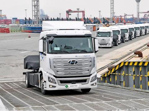 现代汽车全球首款氢燃料电池重卡运往瑞士,积极布局欧洲市场