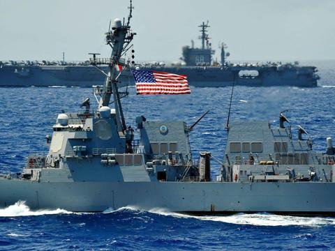 20万大军对准东亚争议岛屿,美军再次调转枪口,伊朗只是个幌子