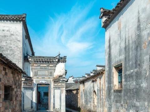 """低调徽派古村,却是名导演钟爱的取景地,被称""""古祠博物馆"""""""