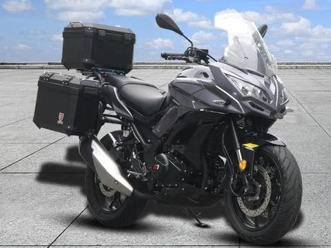 诺马首款拉力摩托 旅行者255GT亮相 售价有望1.5万内