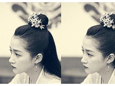 关晓彤怼脸拍晒新发型,眼睛中的人影成亮点,网友:鹿晗别躲了?