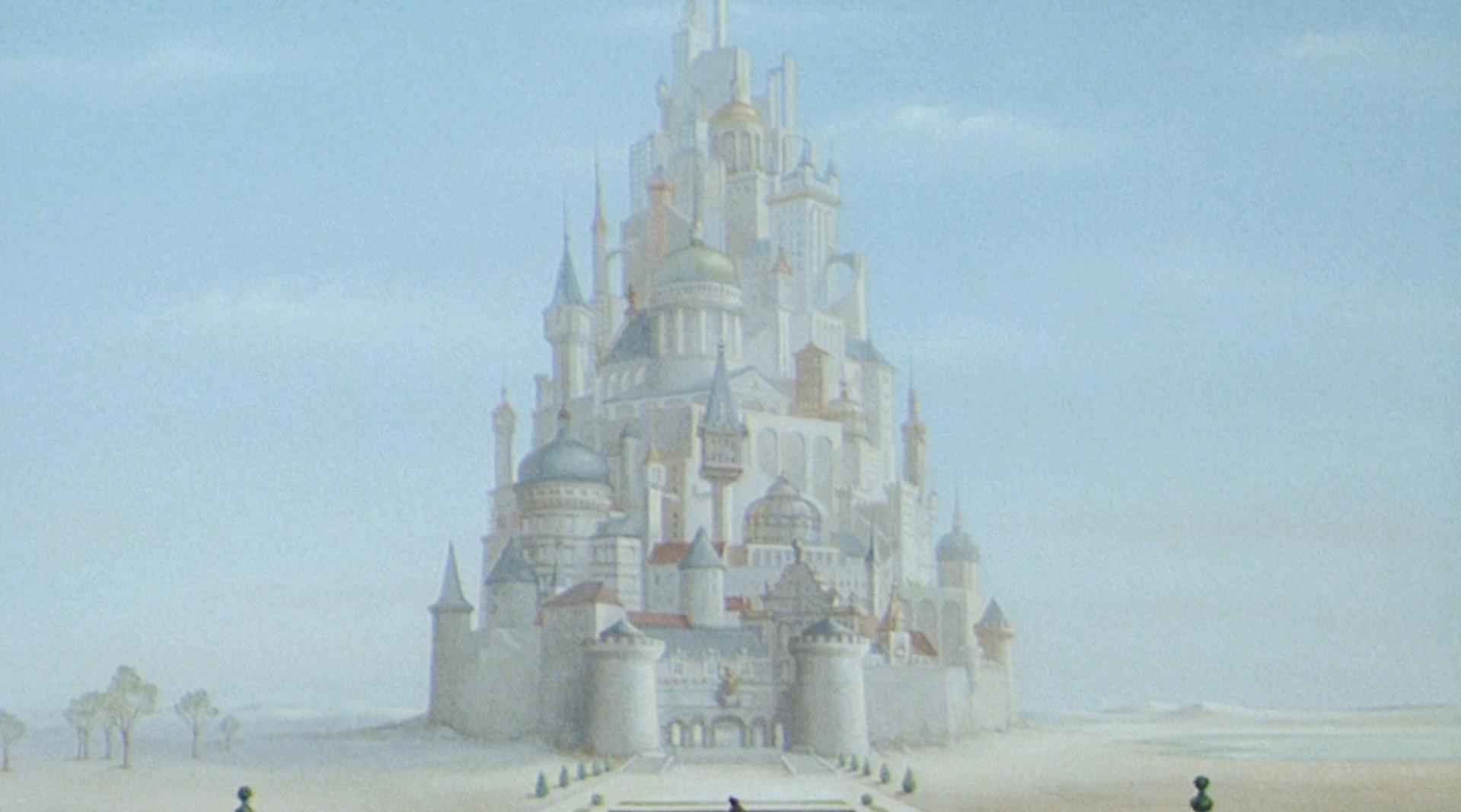 沙漠中的古老王国,国王住着千米高古堡……