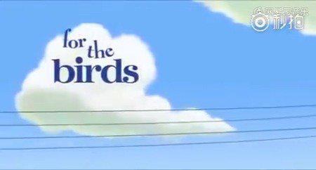 第界奥斯卡最佳动画短片鸟鸟鸟一群性格尖酸的小鸟集聚在电线上唧