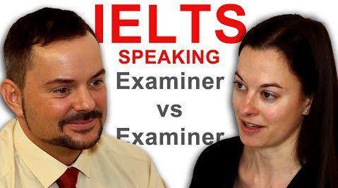英文视频:两名雅思考官模拟雅思口语考试现场……