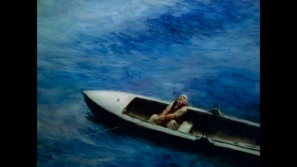 奥斯卡最佳动画短片获奖《老人与海》……