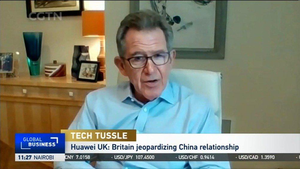 华为英国董事长:为美国弃用华为或影响中英关系