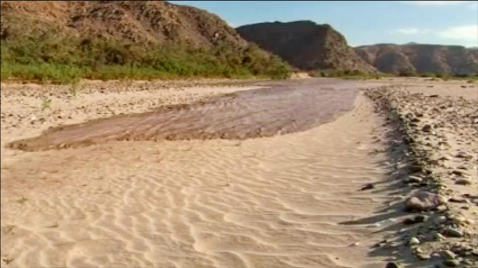 河床就像吸墨纸一样,吸干了流经的河水|自然密码0609