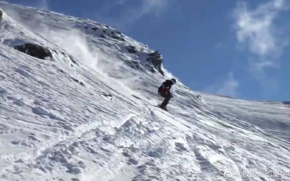 好像有人想看滑雪视频,新西兰雪场