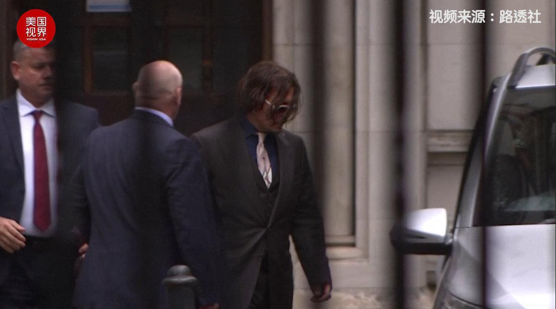 英国法院审理:约翰尼·德普酒后狂怒 在飞机上袭击妻子 伦敦高等